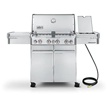 WEBER 580sq. in 4-Burner Gas Grill
