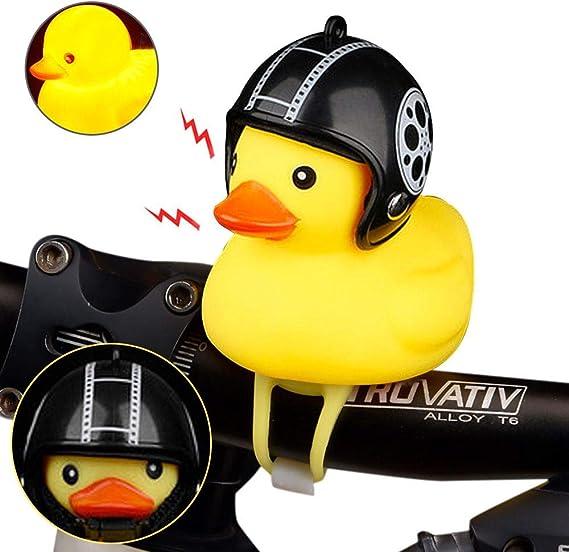 Hamkaw - Timbre de goma para bicicleta, diseño de pato, color ...