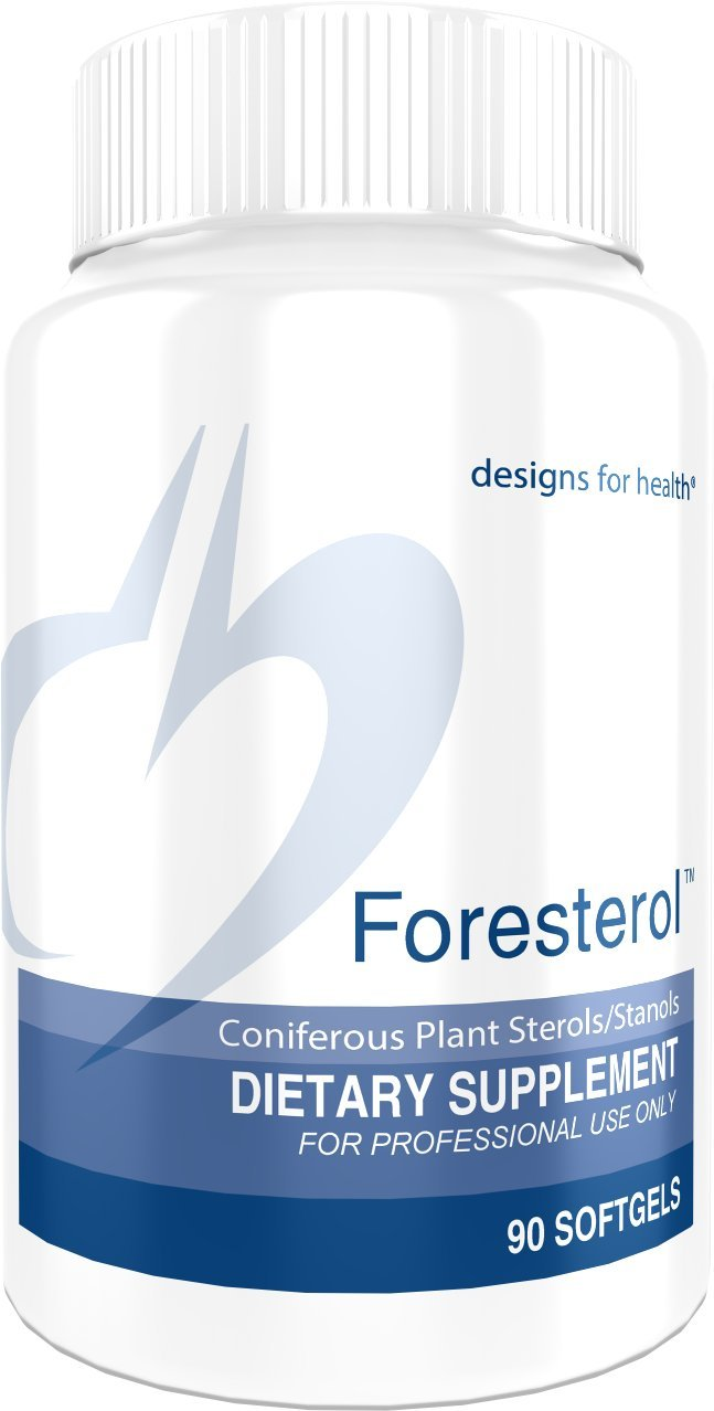 Designs for Health - Foresterol - 600mg Plant Sterols + Stanols for Cholesterol Support, 90 Softgels