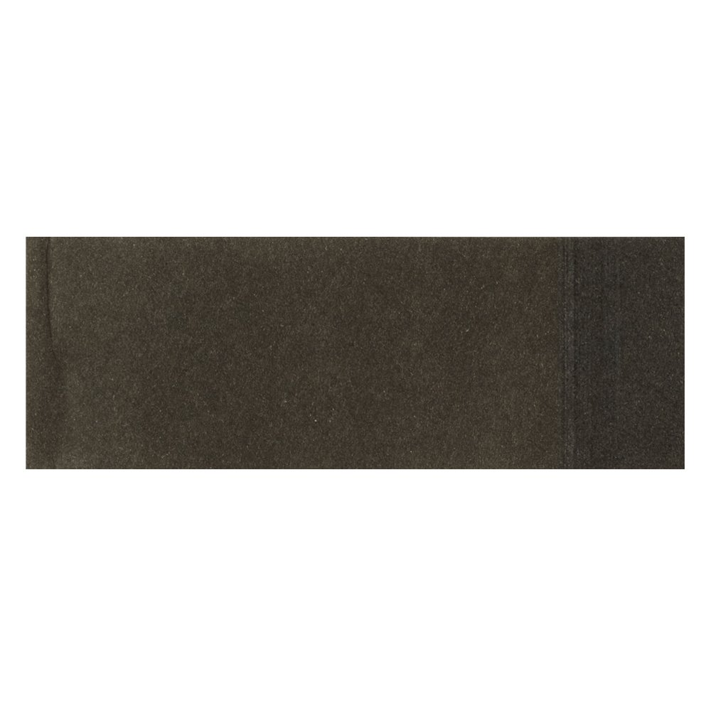 Hoffmaster 883072 Flat Napkin Band, 4-1/4'' Length x 1-1/2'' Width, Black (4 Packs of 2500) by Hoffmaster