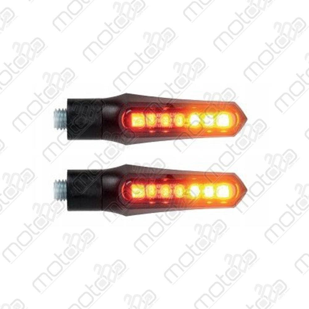 DUE Posizione-Stop-Frecce Led Omologate Frecce Lightech Posteriori Dual Mod