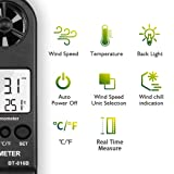 BTMETER Anemometer Handheld BT816B Digital Wind
