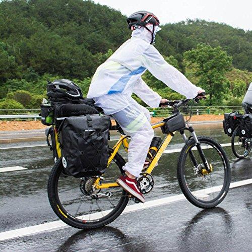 Amazon.com: RockBros Bike Pannier Bolsa de viaje de gran ...