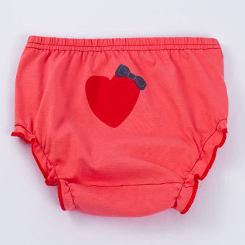 3 Piezas JEELINBORE Ropa Interior para Beb/és Ni/ña Braguitas Pantis Volantes Pantalones Bombachos para 1-5 a/ños
