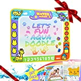Doodle Mat Water Doodle Pad LAUNGDA Aqua Doodles Color Drawing Toy Tablet Birthday Easter Gift for Boy Girl Kid Toddler
