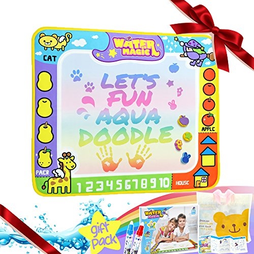 Cheap laungda doodle mat water doodle pad aqua doodles color drawing cheap laungda doodle mat water doodle pad aqua doodles color drawing toy tablet birthday easter gift negle Images