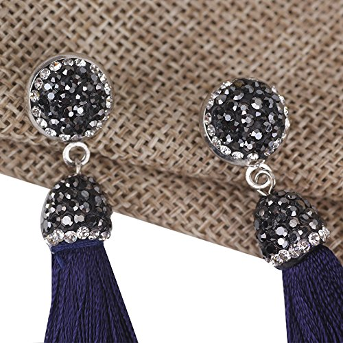 Fashion Bohemian Tassel Dangle Earrings Long Fringe Earrings Bohemian Thread Earrings for Women Girls