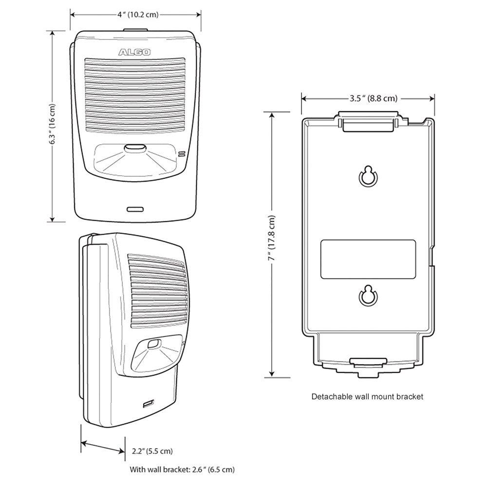 Algo 8180G2 IP Paging and SIP Loud Ringer Audio Alerter (8180 G2) by ALGO (Image #4)