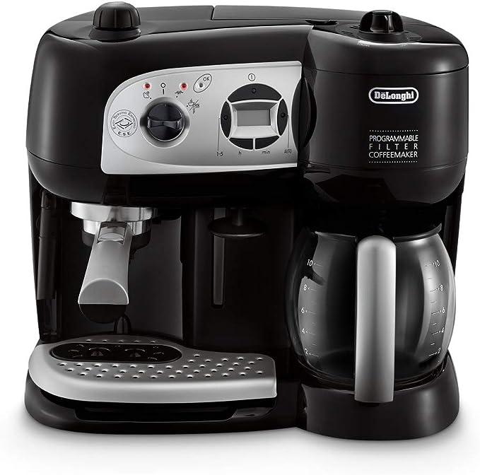 DeLonghi BCO264.1 - Cafetera combinada, 1750 W, 1.2 L, negro: Amazon.es: Hogar