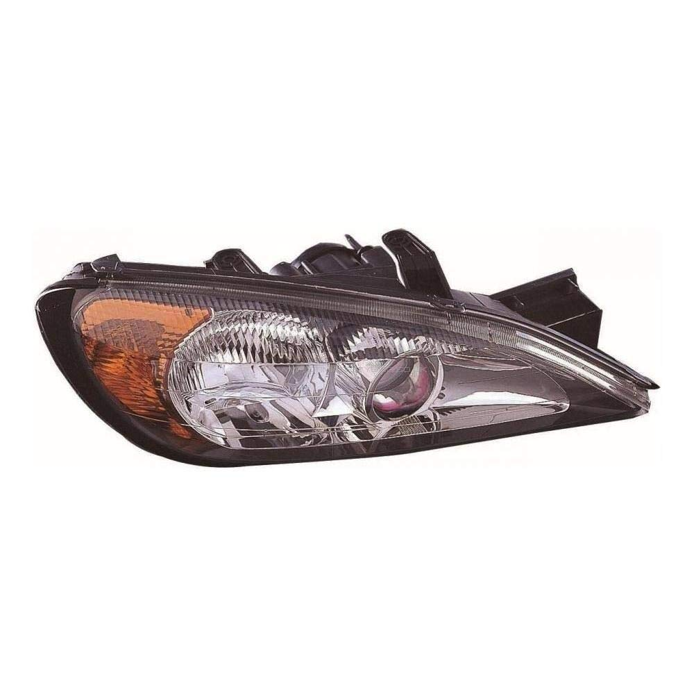 Ultimate Styling Electric Adjustment Halogen Headlight/Headlamp Without Load Level Motor Drivers Side O/S Internal Colour (Bezel) As Pictured