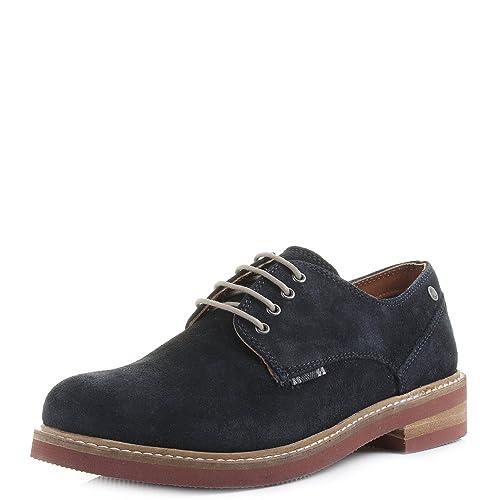 Mens Jack And Jones Stan Suede Navy Blazer Blue Smart Work Shoes