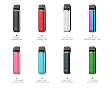 Authentic SMOK NOVO Vape POD System 2ML Starter KIT (Black Cobra) - No  Nicotine