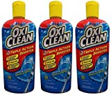 OxiClean Dishwashing Booster - Triple Action - 105 Loads - Net Wt. 11.2 FL OZ (331 mL) Each - Pack of 3