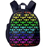 Squats Sasquatch Bigfoot Workout Boys Casual Lightweight Canvas Backpacks School Rucksack Travel Backpack.