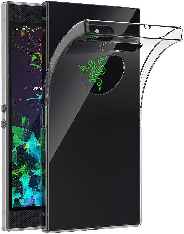AICEK Funda Razer Phone 2, Transparente Silicona Fundas para Razer ...