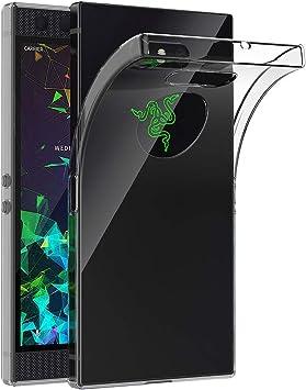 AICEK Funda Razer Phone 2, Transparente Silicona Fundas para Razer Phone 2 Carcasa Silicona Funda Case (5,72 Pulgadas): Amazon.es: Electrónica