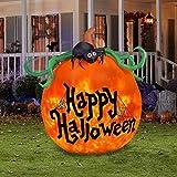 Projection Kaleidoscope Happy Halloween Pumpkin Outdoor Inflatable