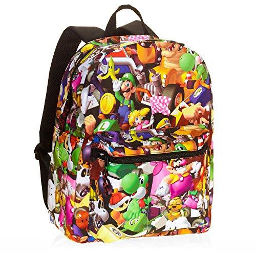 Super Mario Bros. Comic 16 Standard Size Backpack