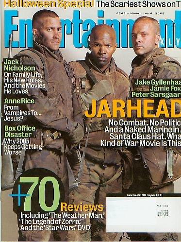 Entertainment Weekly November 4 2005 Halloween Special Jarhead (#848)]()