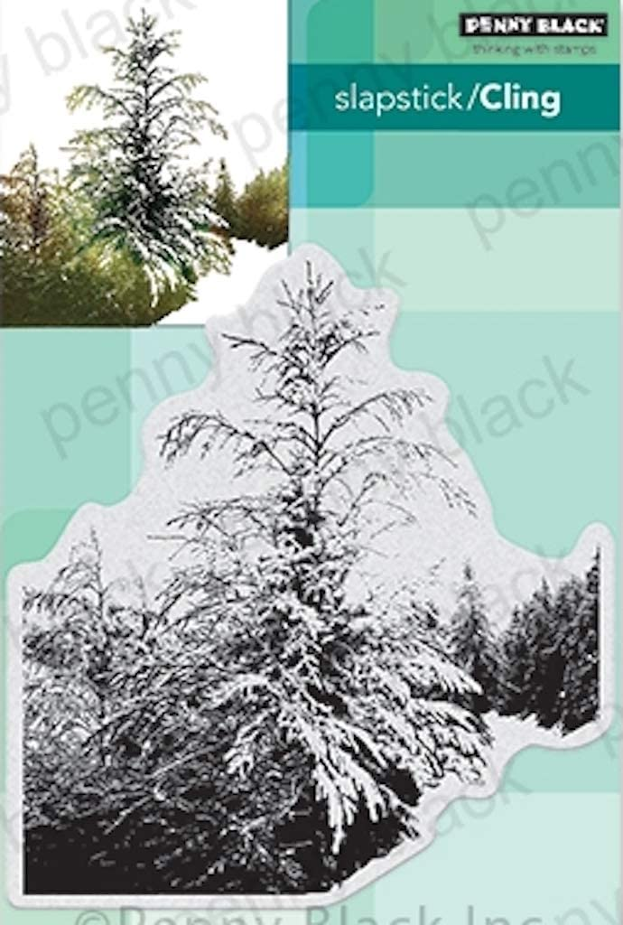 Penny Black 40-715 Winter Tide Cling Rubber Stamp