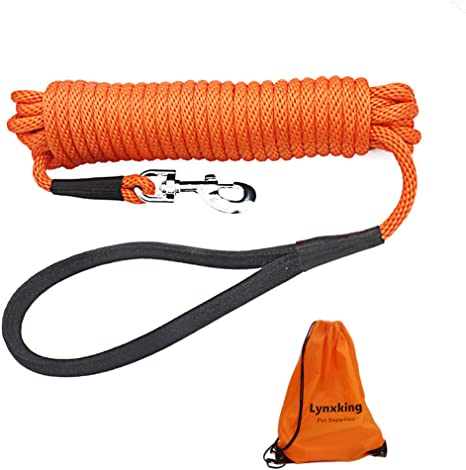 lynxking Check Cord Dog Lead Long Dog