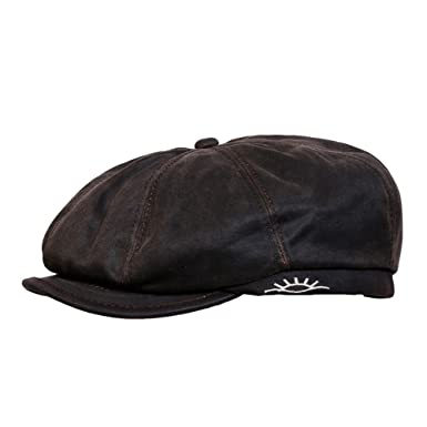 c7810edfca9 Conner Hats Men s Brent Weathered Newsboy Cap at Amazon Men s ...