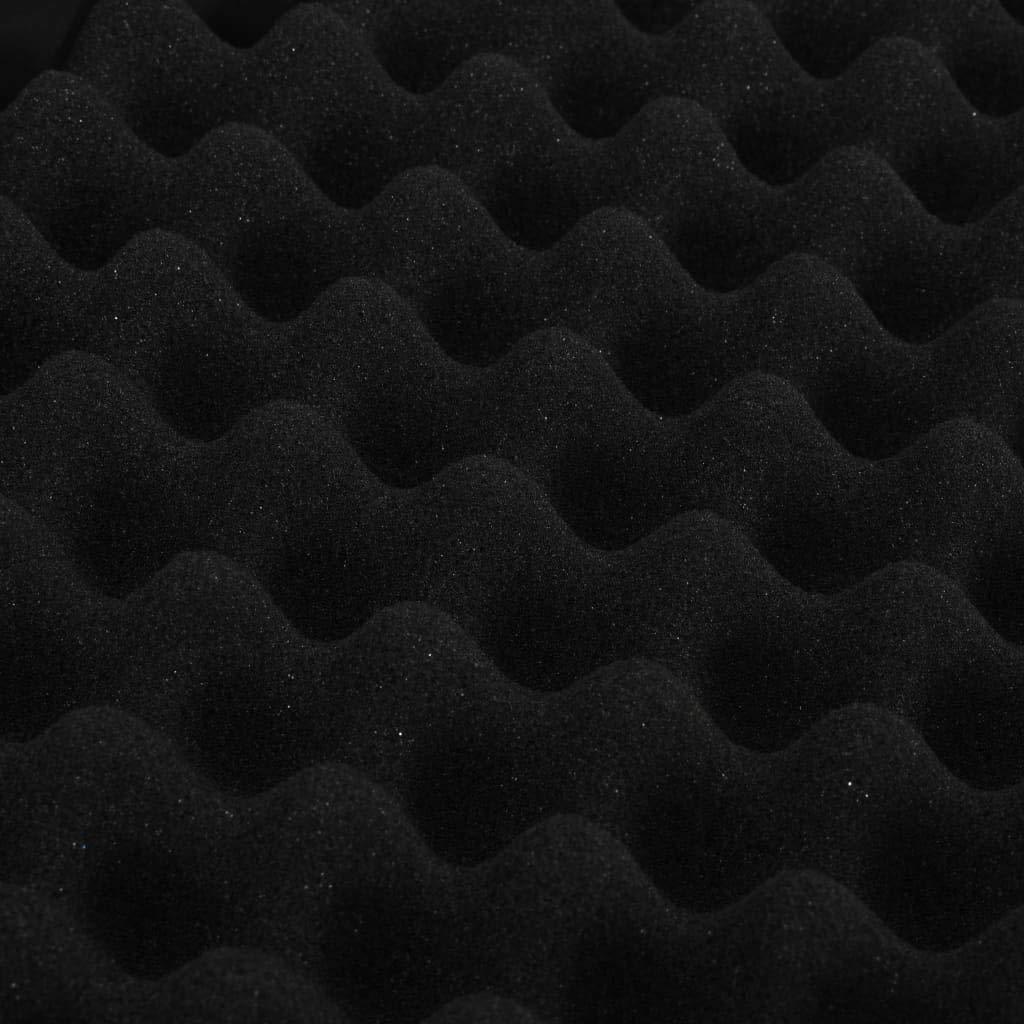 Festnight Mallette pour Arme /à feu Mallette de Fusil Noir 118 x 38 x 12 cm Aluminium