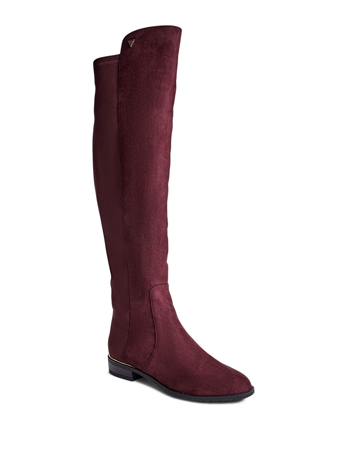 GUESS Factory Women's Shire Over-The-Knee Suede Boots GuessFactory