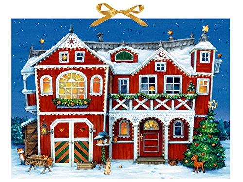 Villa Weihnacht Maria Wissmann-Pavlov Coppenrath F Briefchen zum Selberfüllen