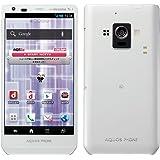 シャープ docomo AQUOS PHONE ZETA SH-02E ホワイト 白ロム NFC/FeliCa対応