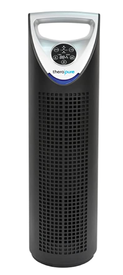 new therapure uv germicidal air purifier, hepa type, po catalyst ...