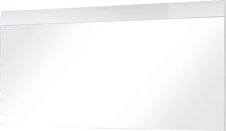 Germania 3515–84 GW de Adana Miroir - particules de - MDF - blanc - 3 x 134 x 63 cm