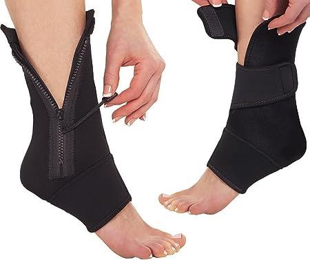 MagiDeal Calze a Compressione in Nylon Antifatica Contenitive Cerniera Gambe Supporto per Sport Corsa Jogging//Eesercizio//Ciclismo XXL Colore della pelle