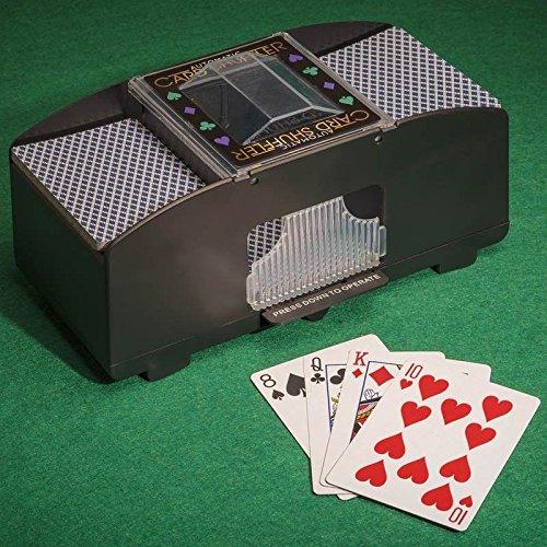 Akku, automatische Poker Casino One zwei Deck Kartenmischer–Ein wenig Shuffle von Lizzy® Tobar