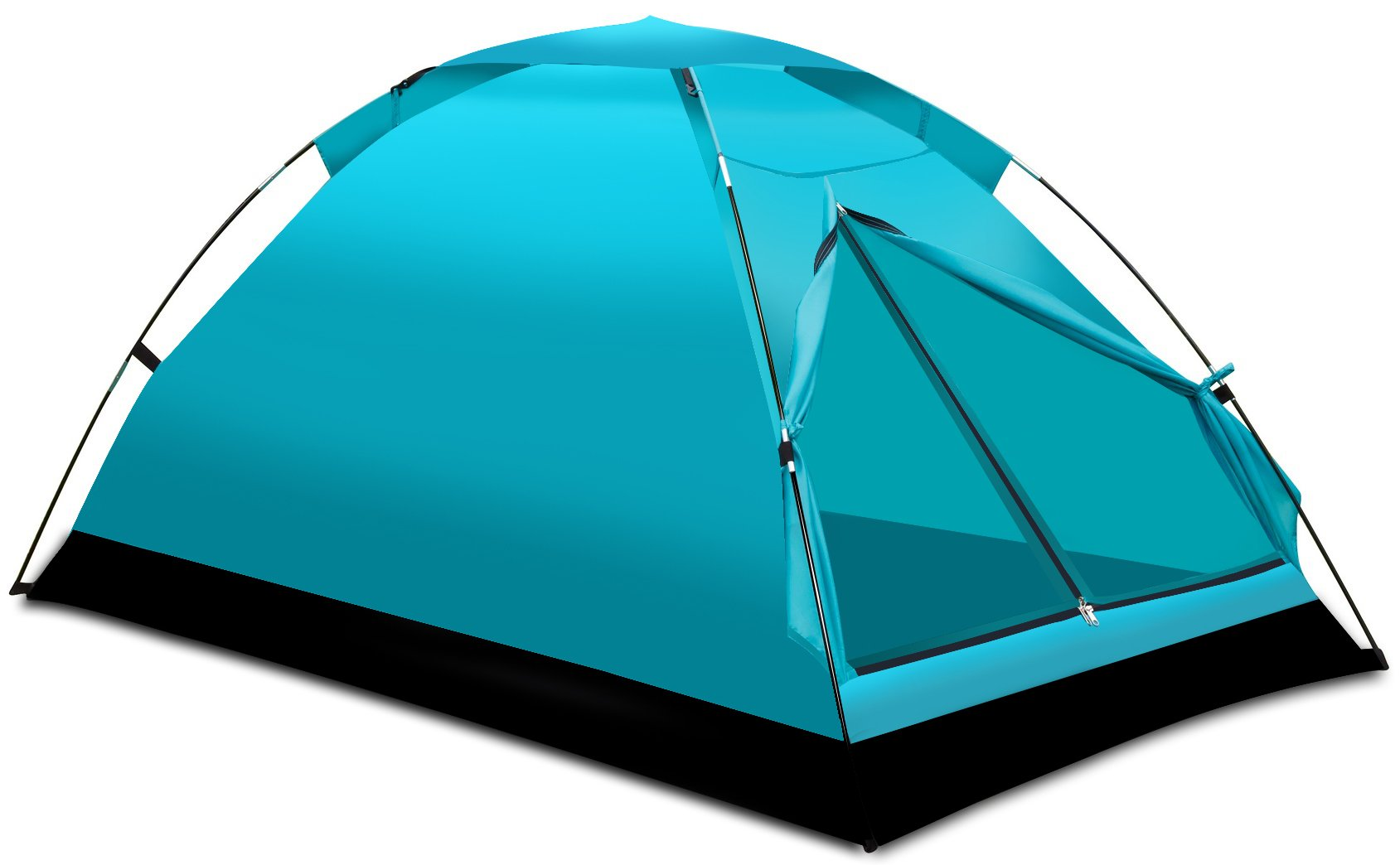 Alvantor Camping Tents Outdoor Travelite Backpacking Light-Weight Family Dome Tent 2 Person 2 Season Hiking Fishing Instant Portable Shelter Gift Easy Set-Up by Alvantor