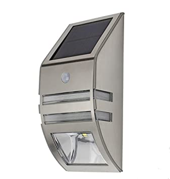 Meihui Wasserdicht 2 Led 120lm Pir Solar Bewegungsmelder Lampe