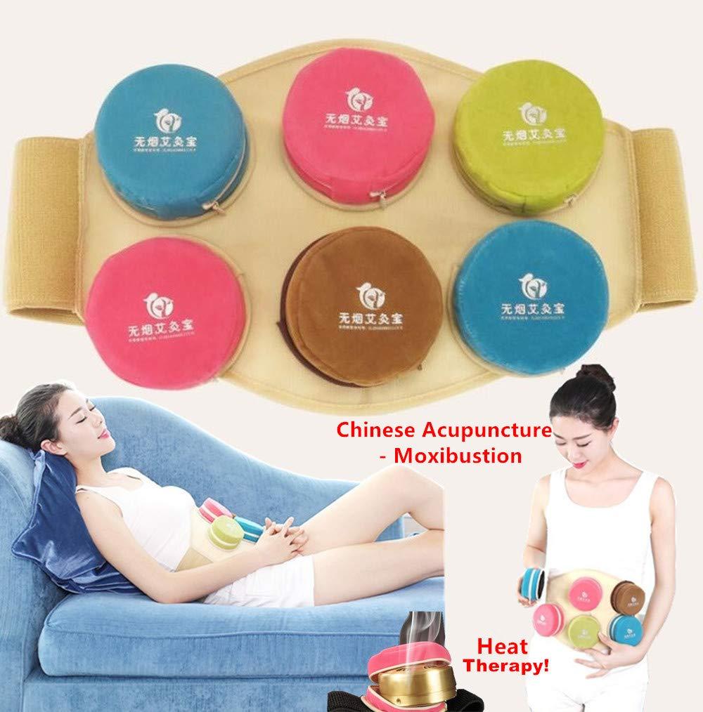 BMHS - Set de terapia de acupuntura china para terapia física/punto de activación/alivio del cuello y dolor muscular/mejora la movilidad, Moxibustion, ...