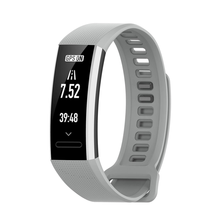 XIHAMA Correa Compatible con Huawei Band 2 / Band 2 Pro, Suave Silicona Smart Watch Bracelet Reemplazo de Pulsera para Huawei Band 2 / Band 2 Pro ...