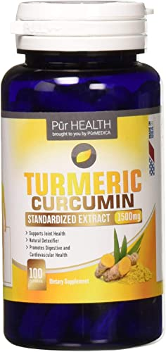 Turmeric Curcumin 1500mg Joint Pain Relief Highest Potency Available – Anti-Inflammatory, Antioxidant Supplement with 95 Standardized Curcuminoids. Best 100 Non-GMO Made in The USA