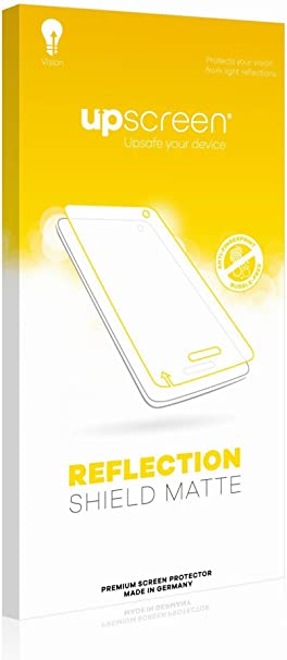 upscreen Reflection Shield Matte Screen Protector for Signotec Signature Pad Sigma Matte and Anti-Glare Multitouch Optimized Strong Scratch Protection