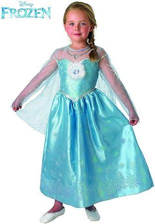 Frozen Disfraz Elsa Deluxe infantil, L (Rubies Spain 888683-L ...