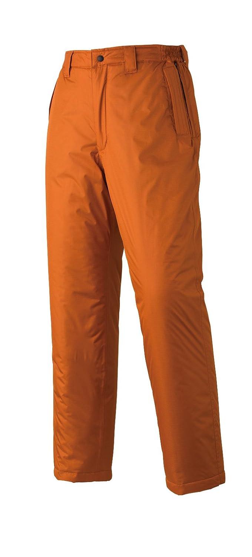 [アタックベース]Atack BASE【透湿防水防寒パンツ】(前ファスナー付秋冬用)《026-688-2》 (4L, 17-オレンジ) B01MTU2HV0