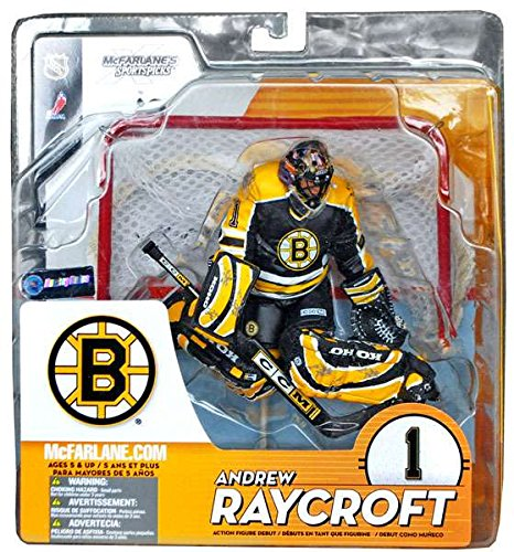 McFarlane Sportspicks: NHL Series 9 > Andrew Raycroft - Boston Bruins Action Figure - Black Jersey (Mcfarlane Toys Hockey)