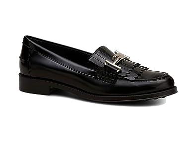 ada092716a0b Tod's Loafers AUS Leder SCHWARZ, Damen, Taglia 39.: Amazon.de ...