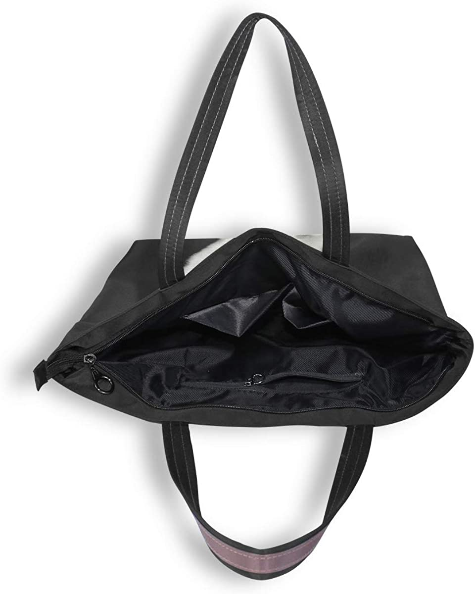 My Daily Women Tote Shoulder Bag Samoyed Puppy Handbag