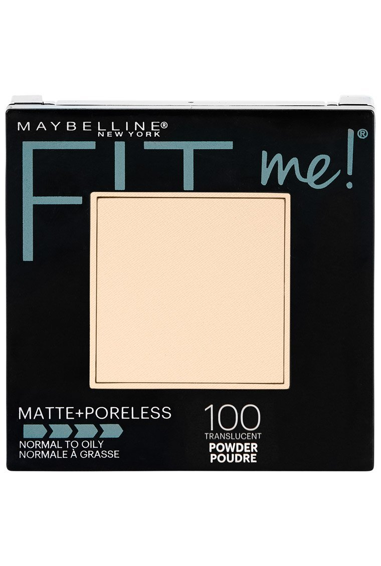Maybelline New York Fit Me Matte + Poreless Powder Makeup, Translucent, 0.29 Ounce, Pack of 1