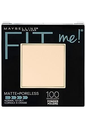 4c5b23b51d3 Maybelline New York Fit Me Matte Plus Poreless Powder, Translucent, 0.30  Ounce: Amazon.ca: Beauty