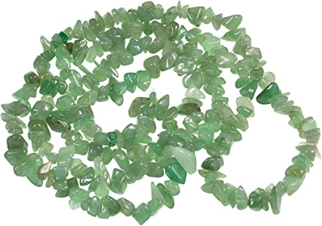 5-6MM  PERIDOT GEMSTONE PEBBLE NUGGET CHIP LOOSE BEADS 34/""