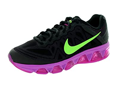 Nike Women's Air Max Tailwind 7 Black/Flsh Lm/Fchs Flsh/Fchs Glw