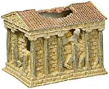 Hydor Deco Classic Collection Ancient Ruins Aquarium Ornament Kit, Greek Temple